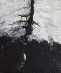 Armando - Der Baum, olieverf op doek 60 x 50 cm, gesigneerd verso op spieraam and gedateerd op spieraam 20-11-92