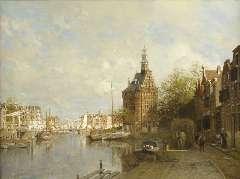 Klinkenberg J.C.K. - The Hoofdtoren, oil on canvas 90 x 120 cm, signed l.l. and dated 1901