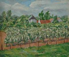 Sluijters jr. J. - Orchard, oil on canvas 50 x 60.2 cm, signed l.r.
